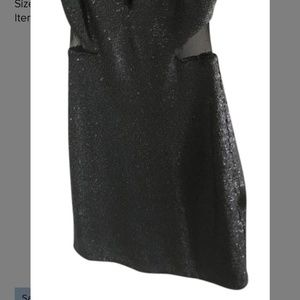 bebe Dresses - BEBE  Black sequins dress